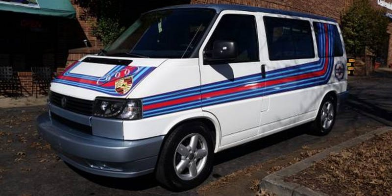 Illustration for article titled For $3,000, This 1993 VW Eurovan Could Be Your Martini With A Twist