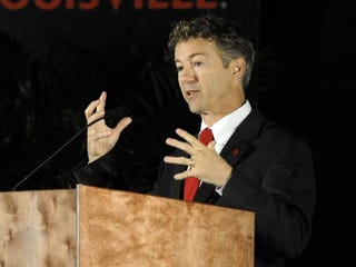 Tea Party darling Rand Paul