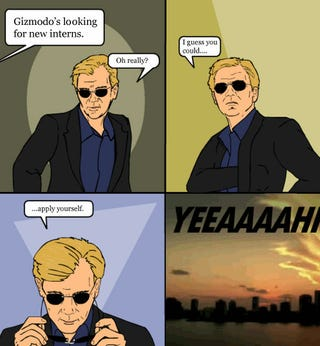 Illustration for article titled Gizmodo Internships in New York