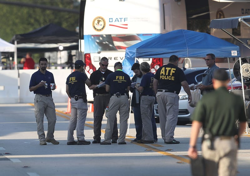 Law-enforcement officials continue the investigation at the Pulse gay nightclub in Orlando, Fla., where Omar Mateen killed 49 people on June 16, 2016.Joe Raedle/Getty Images