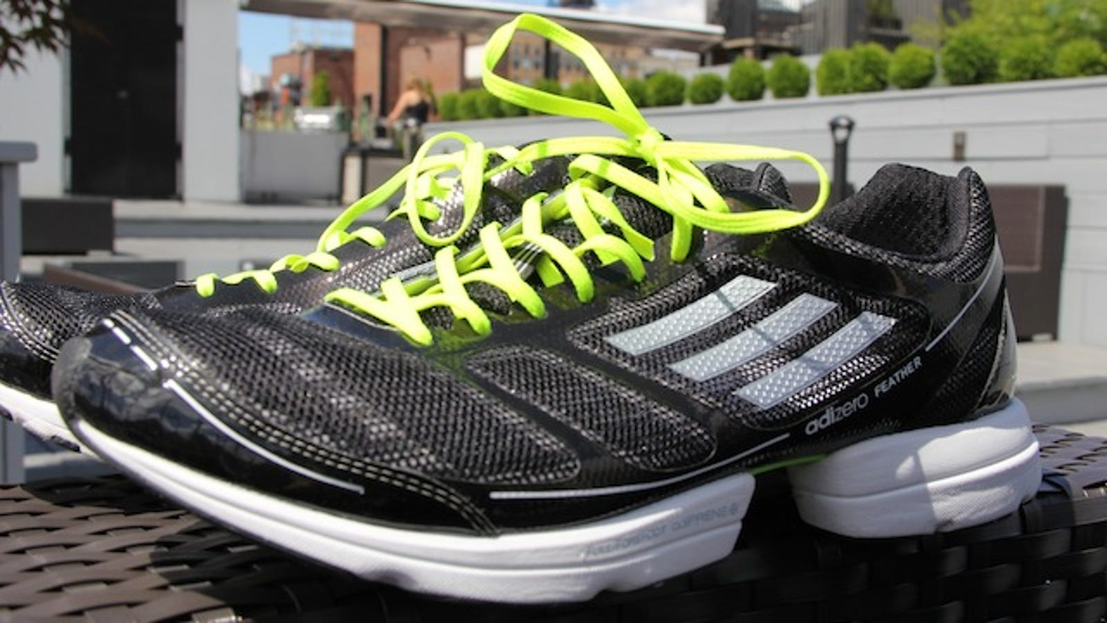 Adidas adiZero Feather Running Shoes Lightning Review  Like Wearing Clouds  on Your Feet 181f1896297