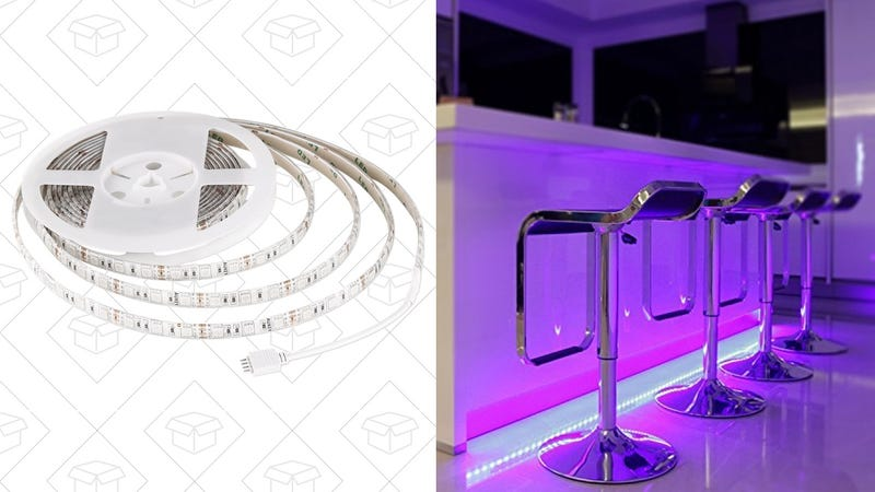 Aukey LED Light Strip   $18   Amazon   Promo code AUKEYSS1