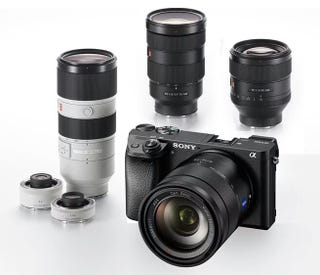 Illustration for article titled Sony announced new (expensive) lenses and a new a6000!
