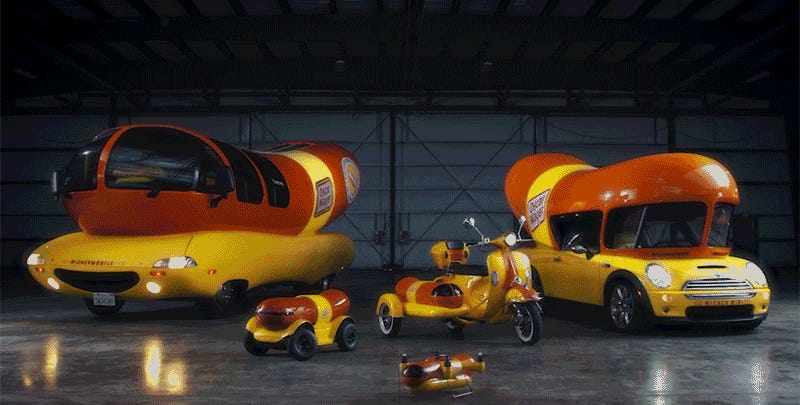 Fly the Oscar Mayer Wienerdrone to my barbecue, please