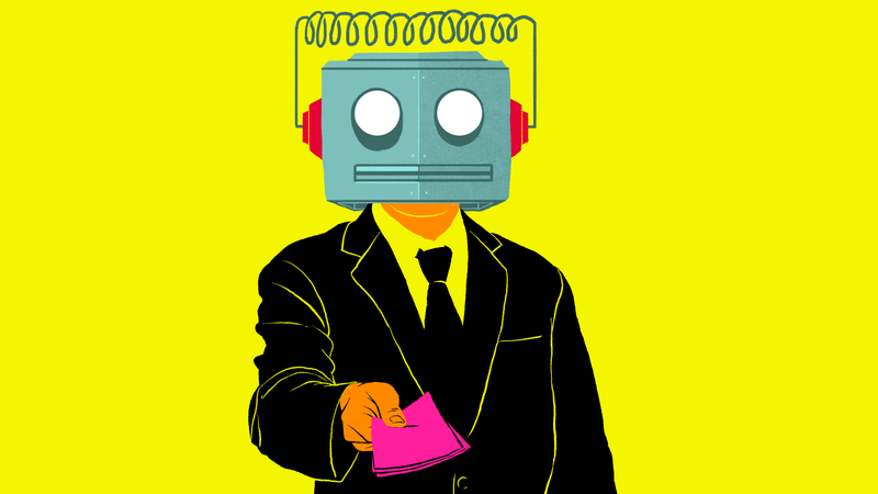 Illustration for article titled 'Robots' Are Not 'Coming for Your Job'—Management Is