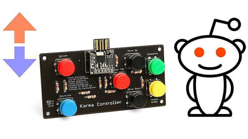 Illustration for article titled A DIY Controller That Gamifies Reddit