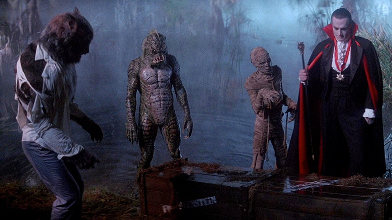 The monsters of The Monster Squad.