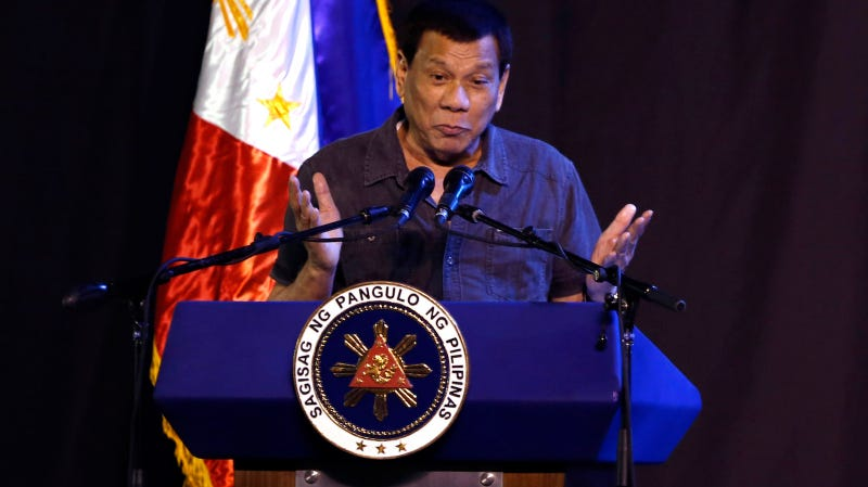 Illustration for article titled Philippines President Rodrigo Duterte Admits to Sexually Assaulting Housemaid
