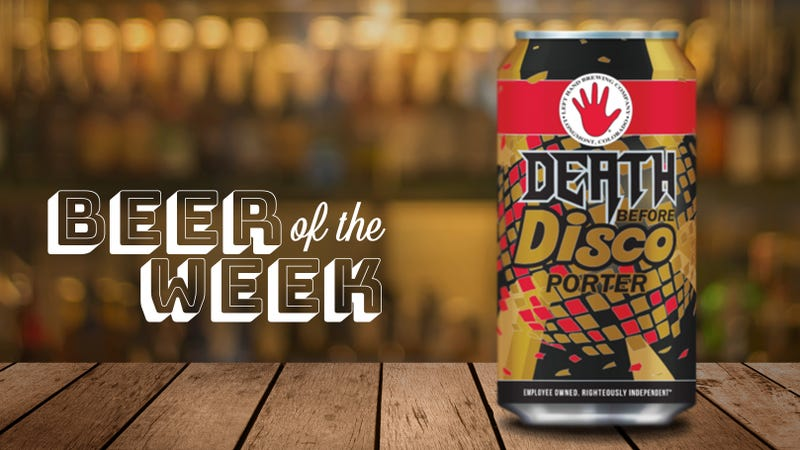 Illustration for article titled Beer Of The Week: Left Hand Brewing's Death Before Disco is a porter worth drinking year-round