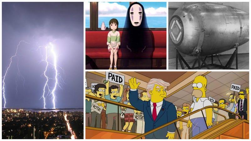 Bombas nucleares, Los Simpson y Donald Trump. Lo mejor de la semana