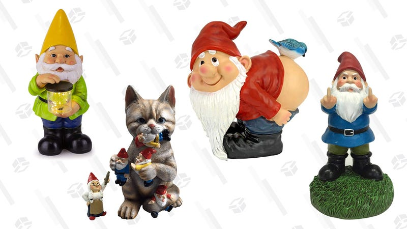 Illustration for article titled Gnome Pun Intended, But These Are Our Favorite Garden Gnomes on Amazon
