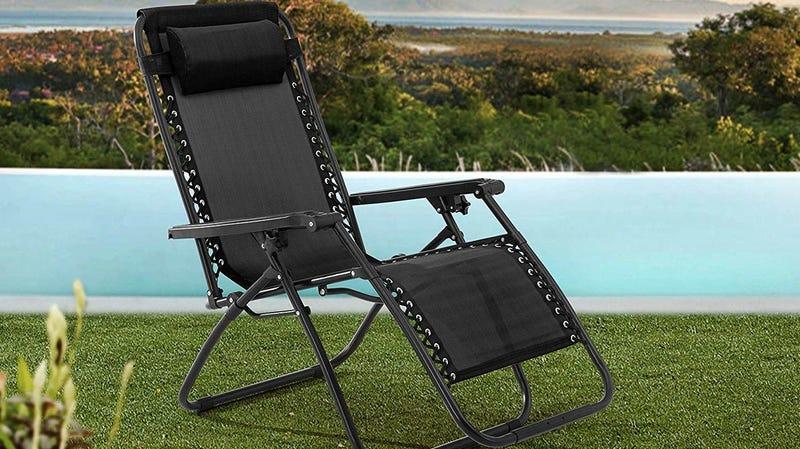Gold Box de silla Sunjoy de gravedad cero | AmazonImagen: Amazon