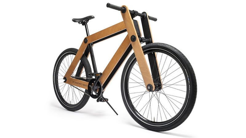 Illustration for article titled Flat-Pack Sandwichbike Is Real -- And Real Expensive