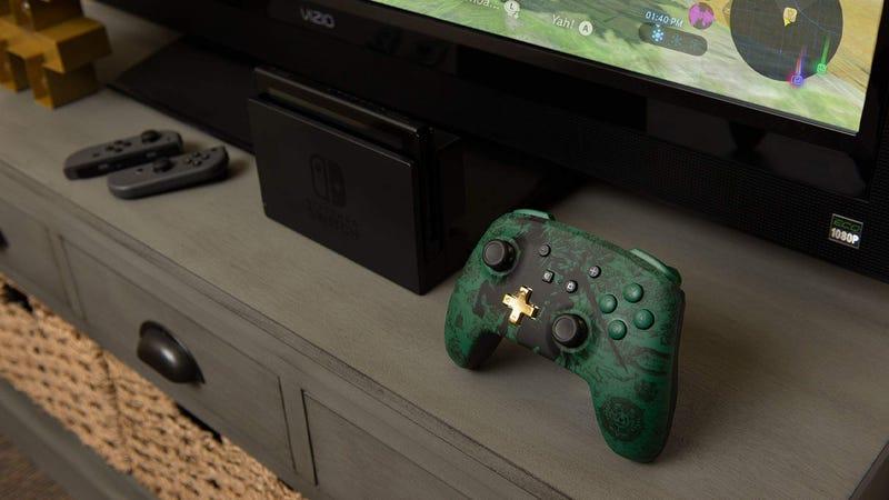 PowerA Enhanced Wireless Controller for Nintendo Switch   $35   Amazon