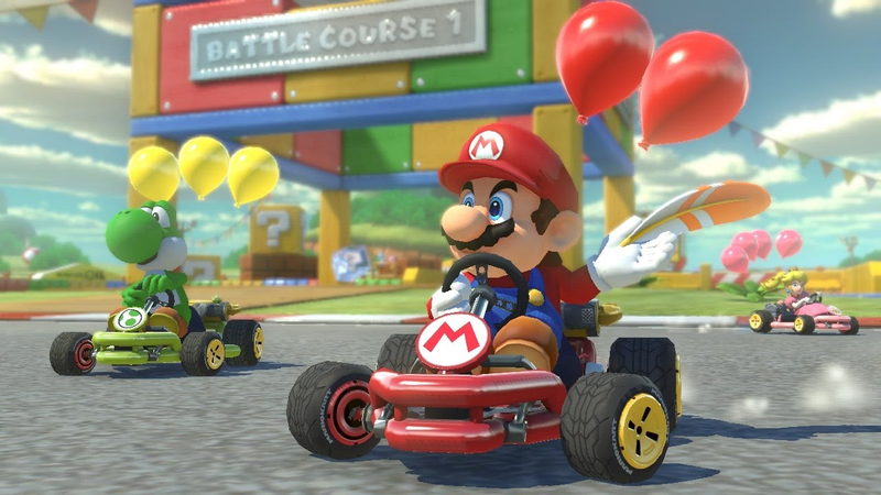 Illustration for article titled Little Girl Finally Gets To Play Mario Kart 8Thanks ToSmart Steering