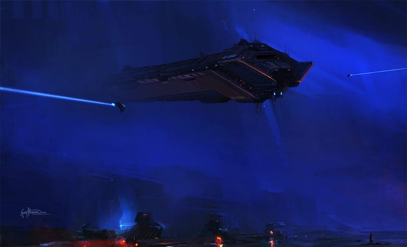 Illustration for article titled EVE Online, Why So Blue?