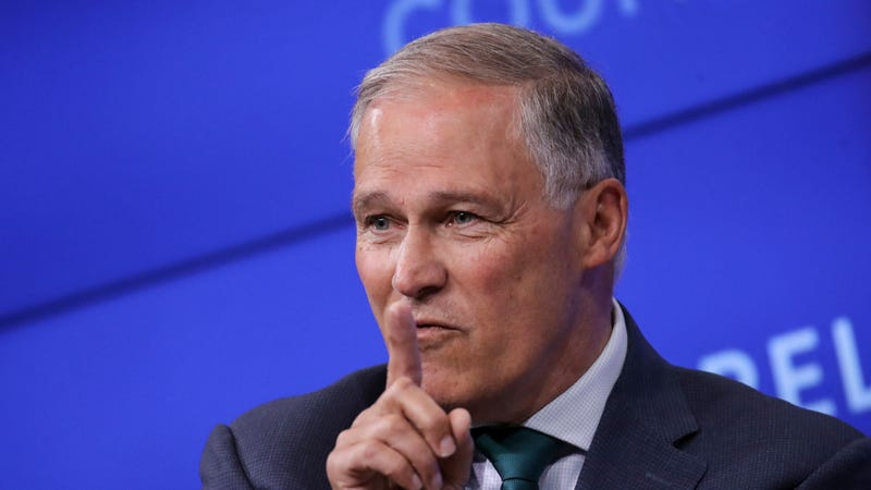 Illustration for article titled Jay Inslee's Latest Climate Plan Would Be the Beginning of the End For Fossil Fuels