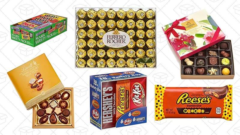 Chocolate Gold Box | Amazon