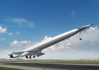 Illustration for article titled Mach 8 Hydrogen Hypersonic Airliner on the Drawing Board