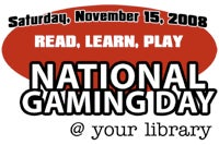 Illustration for article titled National Gaming Day at Your Local Library