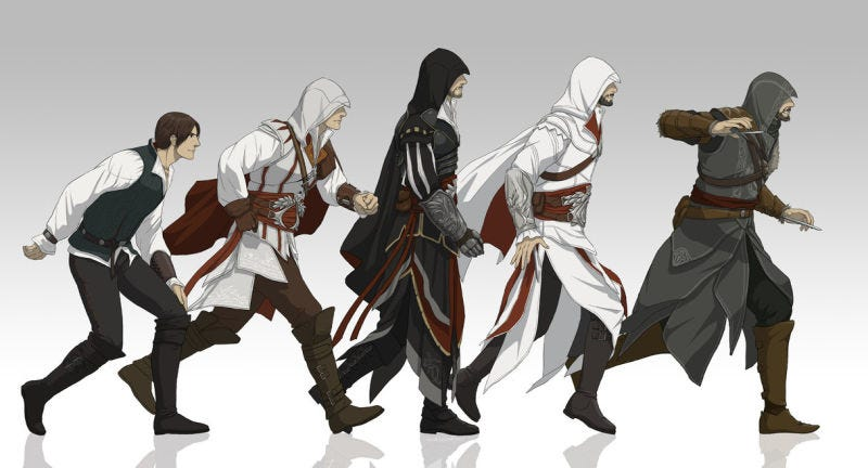 Assassin's Creed se convertirá en un anime