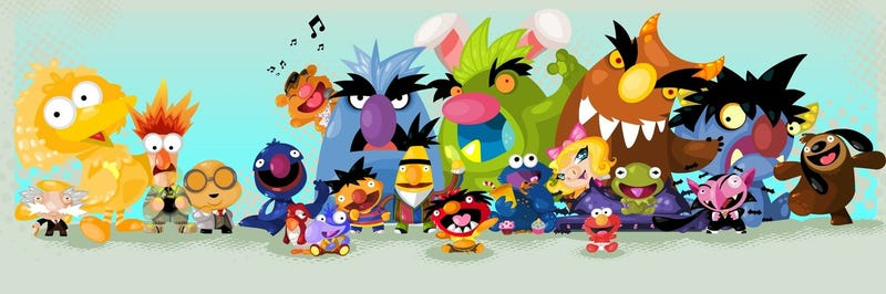 Illustration for article titled CAHming soon! The muppets! YAY!