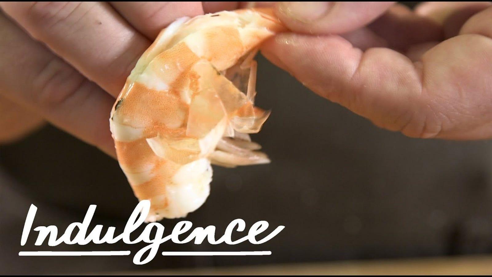 Devein and Peel Shrimp Like a Pro