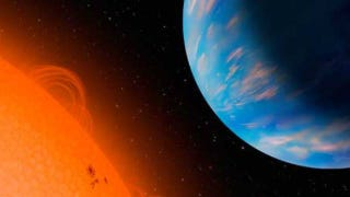 """Illustration for article titled According to astronomers, """"super Earths"""" should not exist"""