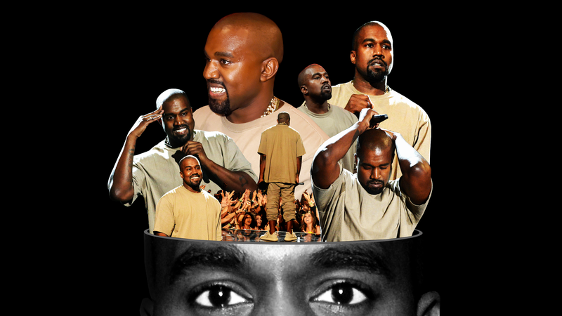 The many faces of Kanye West