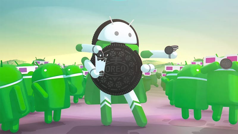 Android Oreo is rolling out now. (Image: Google)