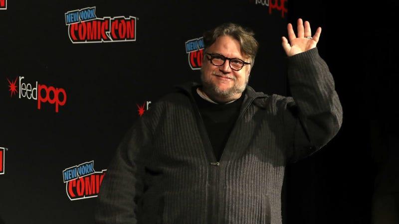 Guillermo del Toro at New York Comic Con 2018.