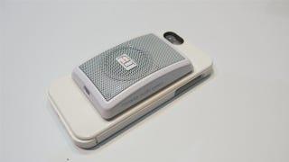 Illustration for article titled Get 30% off the Felt Audio iPhone Speaker