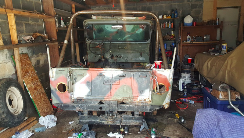 Illustration for article titled My 1948 Jeep Off-Road Project Will Actually Move Under Its Own Power This Weekend