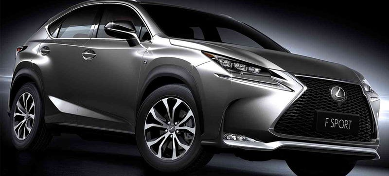 Illustration for article titled I'm About To Crawl All Over The Lexus NX Crossover, Ask Me Anything