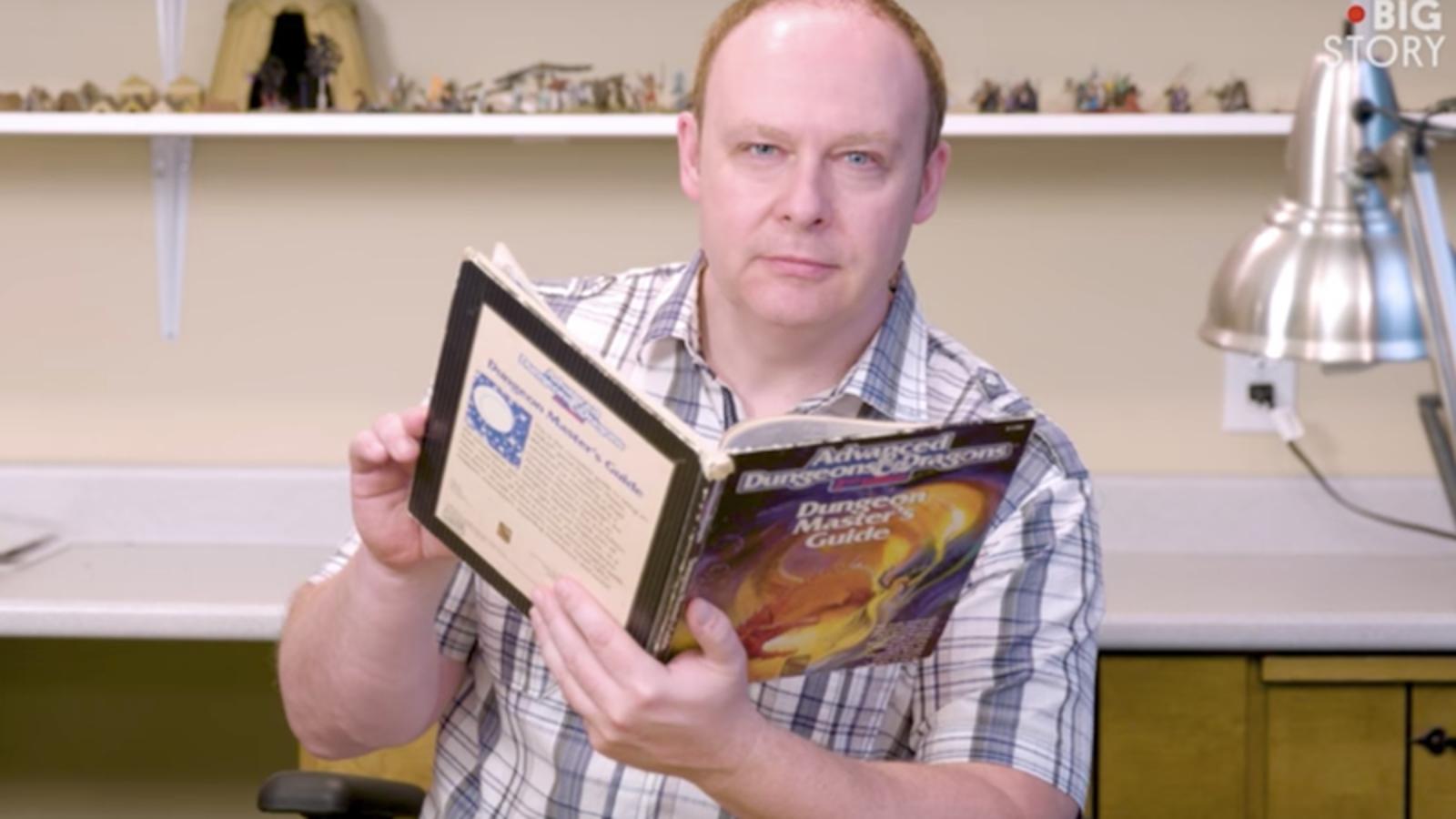 Él es Robert Wardhaugh, el hombre que lleva 35 años jugando la misma partida de Dungeons & Dragons