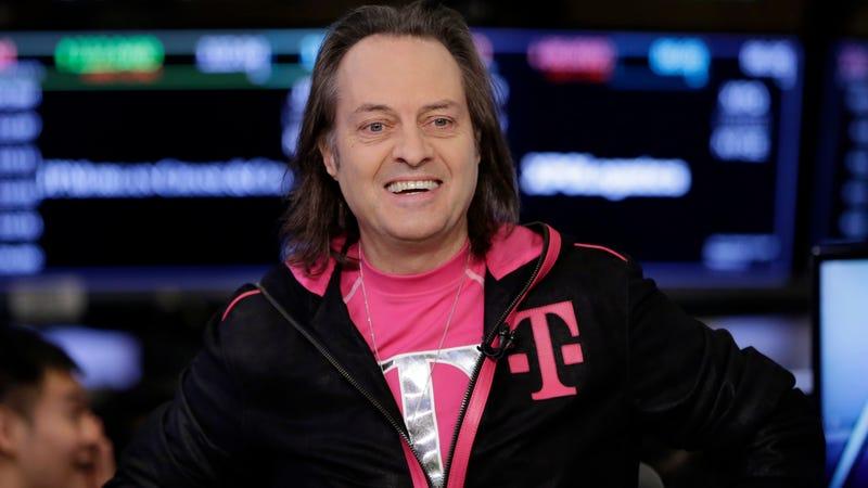 T-Mobile CEO John Legere.