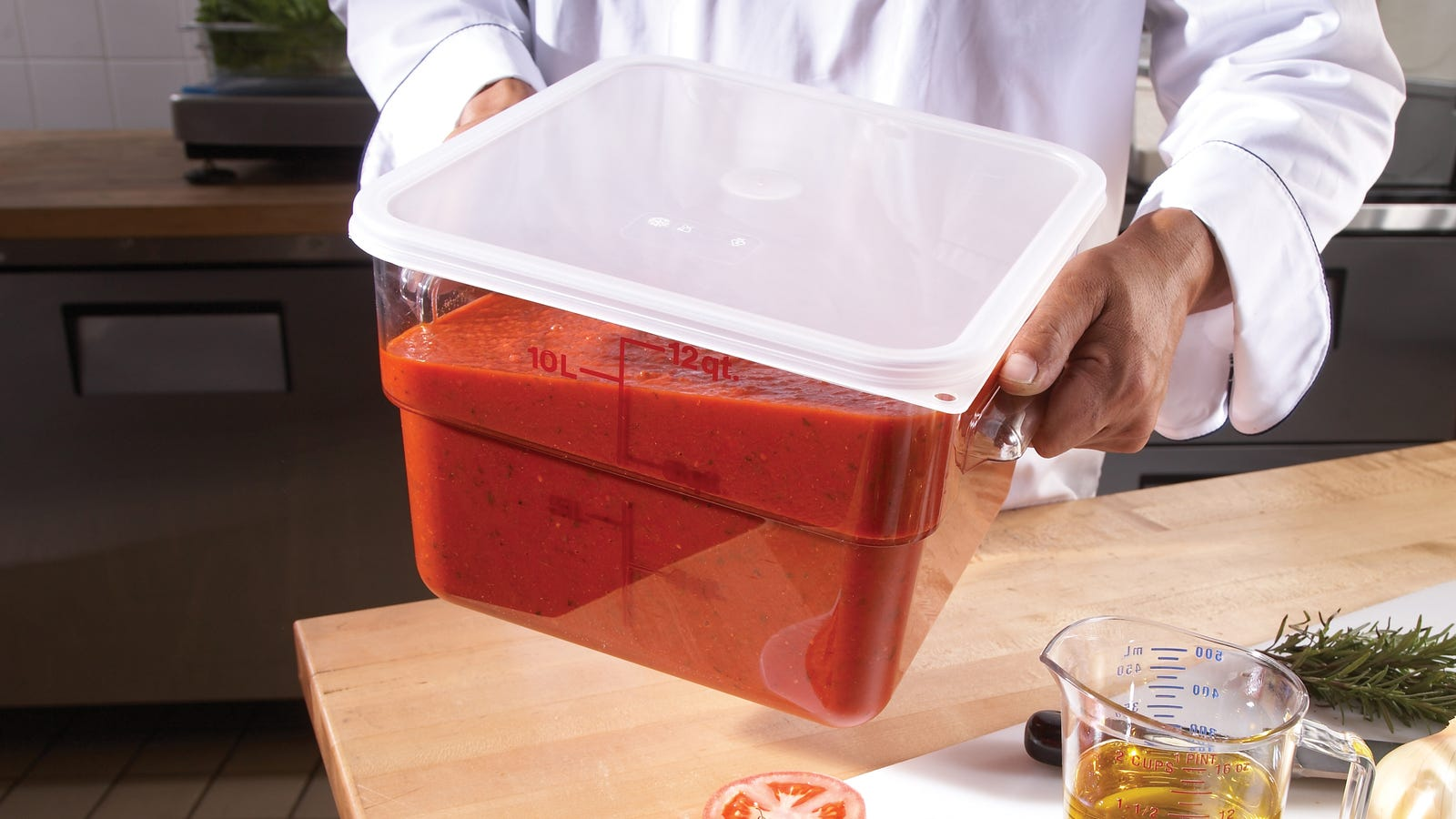 Everyone needs a giant plastic Cambro tub in their life