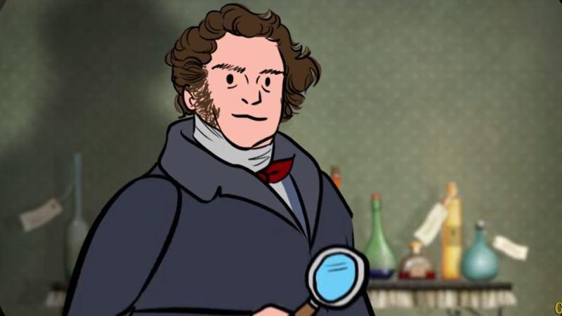 Sherlock Holmes Is Based On A Real Guy (Screenshot: YouTube)