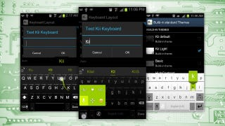 Illustration for article titled Kii Keyboard for Android Is Bursting with Customization and Tweaking Options