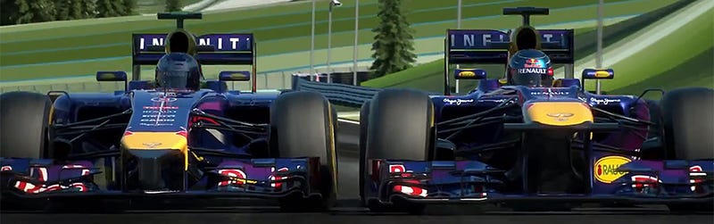 Illustration for article titled Hear the shocking difference between 2013 and 2014 F1 racing engines