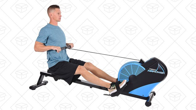 Get a Great Workout at Home With This Discounted Air Rower