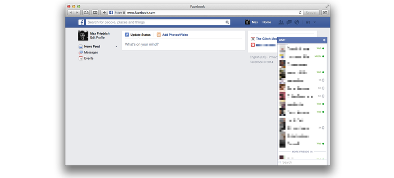 Illustration for article titled Cómo eliminar el muro de noticias de Facebook con un simple código