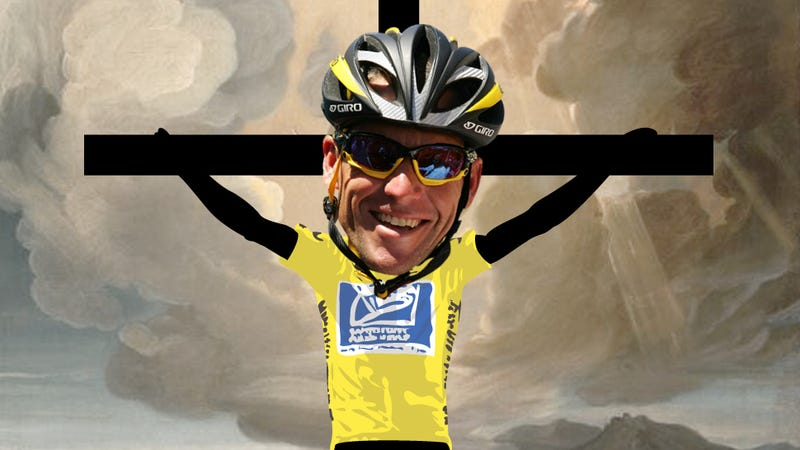 Illustration for article titled The Eternal Martyrdom Of Lance Armstrong