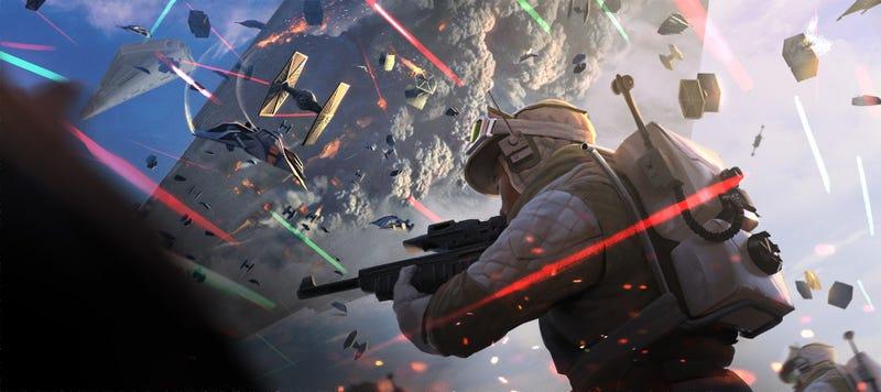 Illustration for article titled Super Laser Star Wars Disco Party