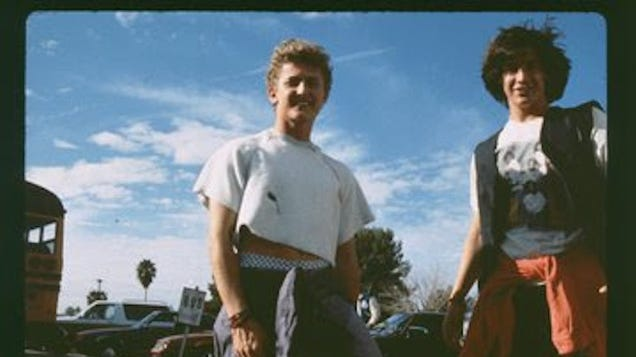 Alex Winter shares bodacious behind-the-scenes photos of Bill & Ted's Excellent Adventure