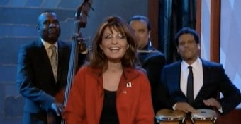 Illustration for article titled Sarah Palin Drops By The Tonight Show To Seek Revenge On William Shatner