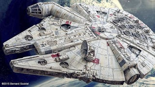 Illustration for article titled Millennium Falcon Papercraft Is A Work Of Art
