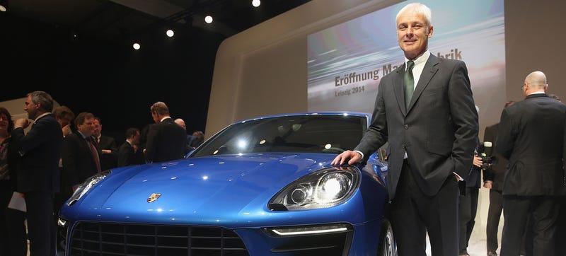 Illustration for article titled Porsche's Matthias Müller Confirmed As New Volkswagen CEO; VW U.S. CEO Keeps Job