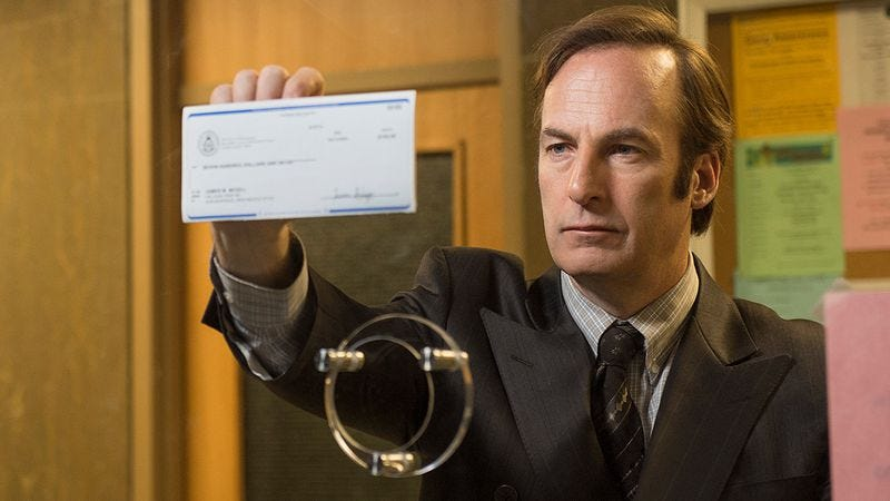 Illustration for article titled Better Call Saul is back for seconds