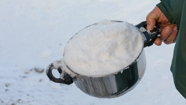 How to Use Snow When You Don t Have Running Water